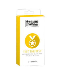 Secura Kondome - Test The Best 12stk