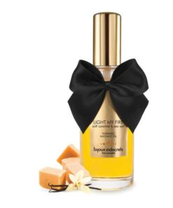 Bijoux Cosmètiques - Varmende Massasjeolje Soft Caramel