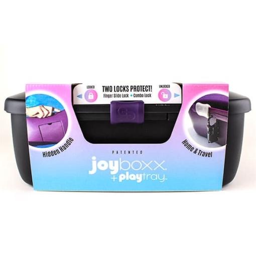 Joyboxx - Hygienisk Oppbevaringsboks For Sexleketøy Svart