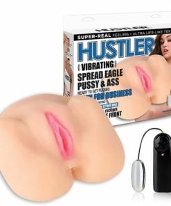 Hustler - Vibrating Spread Eagle Pussy & Ass