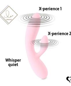 FeelzToys - Lea Rabbit Vibrator Baby Rosa